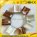 Zhonglianの木の穀物アルミニウム放出を供給しているアルミニウムプロフィールの製造業者
