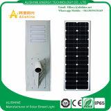 Éclairage LED à lumière extérieure 80W Street Light Solar avec capteur PIR