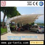 Vente chaude la plupart d'installation simple de Strucuture de parking de tente de nuance en acier populaire de Carparking