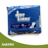 La serviette hygiénique superbe de coton absorbant, soulagent la garniture sanitaire, ultra légèrement