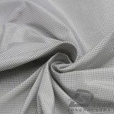 ماء & [ويند-رسستنت] خارجيّ ملابس رياضيّة إلى أسفل دثار يحاك نسيج مربّع جاكار 100% بوليستر أسود مغزول فتيل بناء ([فج012])