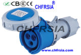 3p 6h IP67 16A Cee / IEC PP / PA impermeável conector industrial