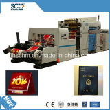 Notizbuch-Deckel-Kalender-Deckel-heiße Folien-Aushaumaschine