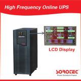 大きいLCD表示が付いている6kVA 5.4kw高周波オンラインUPS