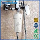 4つの段階のビタミンCの携帯用水セービングのシャワーフィルター
