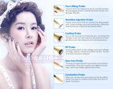 Olhos Galvanic dourados do uso do salão de beleza que levantam a máquina do tratamento da acne