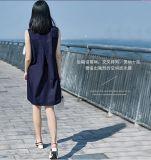 Einfaches Sleeveless Büro-Dame-Form-Kleid