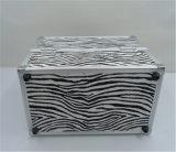 Fertigungberufszebra-Streifen-Doppelt-geöffneter Verfassungs-Kasten mit multi Tellersegmenten