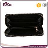Бумажник застежки -молнии портмона деньг PU оптовых бумажников женщин способа длинних кожаный женский