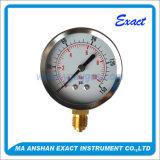 最下の接続の圧力計の乾燥した圧力計-ゲージの製造業者
