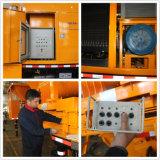 pompe de mélange concrète montée par camion hydraulique de pompage de distance de 300m