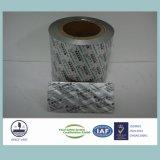 Papel de aluminio impreso y sellado térmicamente para envases medicinales 8011 H18