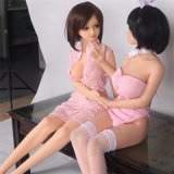 2017 muñeca caliente del sexo del silicón del japonés 140cm de los nuevos productos