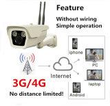 macchina fotografica impermeabile del CCTV del IP del richiamo 4G di IR del pixel 1.0mega