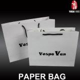 Regalo del papel de la perla de la plata proceso más ropa Bolsa de empaquetado Bolsa bolsa de papel