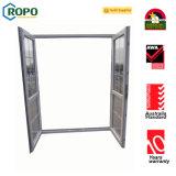 Doppio portello della stoffa per tendine di apertura del PVC As2047 con il vetro di effetto