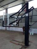 Обруч баскетбола оптовой в-Земли высоты регулируемой селитебный для подъездной дороги