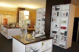 Governi crema moderni della mobilia della cucina di lucentezza