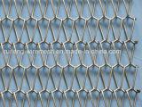 Rete metallica architettonica della decorazione del nastro trasportatore