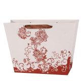 Kundenspezifischer Papierbeutel mit Firmenzeichen für Verpackung und das Einkaufen