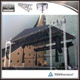 屋外コンサートの販売のためのアルミニウム段階のトラスシステム