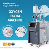 피부 회춘을%s 고압산소요법 산소 Jetpeel 얼굴 기계