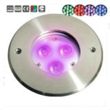 3X3w 3in1 RGB LEDの水中プールライト