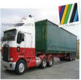610GSM o il PVC ignifugo impermeabile su ordinazione ha ricoperto la tela incatramata per le tende dei coperchi del camion