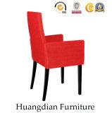 أحمر [بو] مطعم أثاث لازم خشبيّة يتعشّى كرسي تثبيت كرسي ذو ذراعين