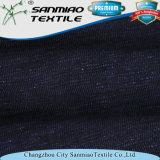 Tela tingida único fio do Knit de Jersey do Slub da parte alta para o t-shirt