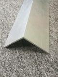 Aluminio 6063 perfil en forma de L del ángulo de 90 grados