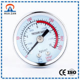 Manomètre Mécanique de Pression Différentielle de Manomètre D'extrémité Ouverte de Coutume