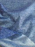tela del tafetán del poliester 380t con la tela impresa capa del tafetán del PA para abajo la chaqueta
