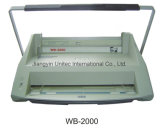 Carpeta Wb-2000 de Velo de la máquina obligatoria de libro A4