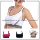 Sutiã acolchoado removível do esporte da aptidão da juventude do sutiã da ioga dos fabricantes do OEM