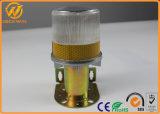 Heiße Solar-LED Verkehrs-Barrikade-Warnleuchte des Verkaufs-mit Aluminiumunterseite