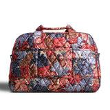 普及した完全な印刷旅行袋、女性偶然の荷物袋、肩ベルトが付いているスポーツのダッフルバッグ