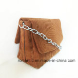 In het groot Ontwerper Dame Fake Suede Handbags met Ketting (nmdk-050827)