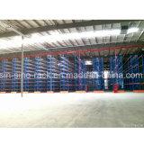 창고 산업 저장 선반설치 시스템 선택적인 깔판 선반 시스템