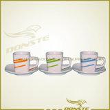 De vierkante Koppen van de Koffie van de Lijn