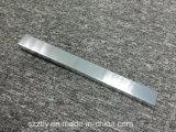 perfiles de aluminio anodizados pulidos 6061t6 de la protuberancia