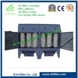 Colector de polvo vertical del cartucho para el aire industrial limpio