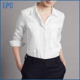 Чисто Linen обыкновенная толком тонкая рубашка работы пригонки