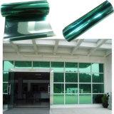방열 1개의 방법 비전 유리제 사려깊은 녹색과 은 건물 Windows 필름