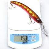 15.5cm amorce Bionic d'attrait de pêche de crochet en métal de carbone de 10 couleurs