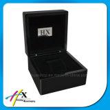 Caixa de presente de madeira feito-à-medida da caixa de armazenamento do relógio da parte alta