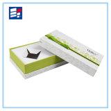 Boîte-cadeau de papier modèle de ventes chaudes pour des tissus d'emballage
