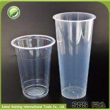 Großes kundenspezifisches transparentes hitzebeständiges versiegelbares Plastiksaftsmoothie-Wegwerfcup