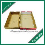 Cire en carton ondulé en cire Emballage en carton