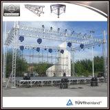 Piattaforma di alluminio mobile stabile della fase di evento di TUV da vendere